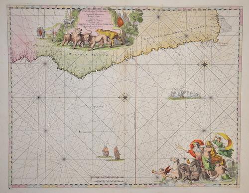 Wit, de Frederick Cimbebas et Caffariae Littora a Catembela ad Promontorium Boan Spei..