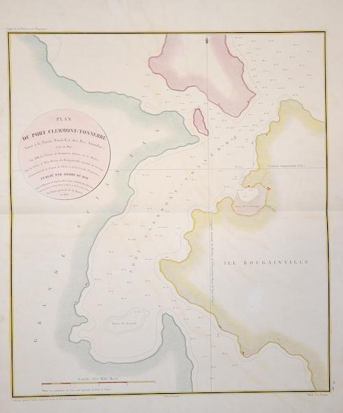 Tardieu Ambroise Plan du Port Clermont-Tonnerre