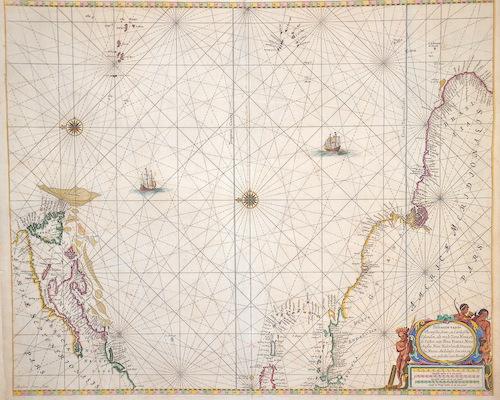 Keulen Johannes van Pascaerte van de Vlaemsche, Soute, en Caribesche Eylanden…