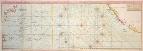 Anson Georg Carte de la Mer du Sud…