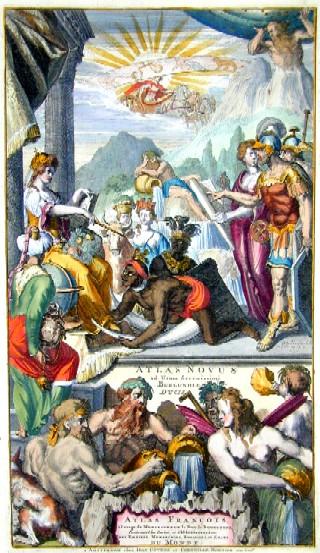 Covens/ Mortier Jean/ Corneille Atlas novus ad Usum Serenissimi Burgundiae ducis…