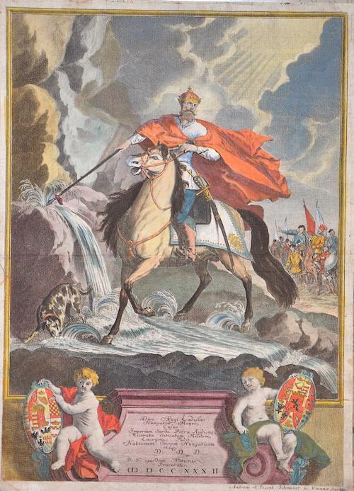 Schmutzer A. J. Divo Regi Ladislao Hungariae Moysi, Cuius Imperium Surda Petra audienc, Miserata Sitientem Militem, Lacrymas fudit, nationem omnem Hungaricam