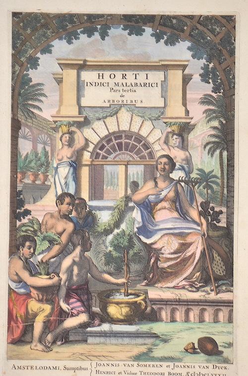 Reede tot Drakestein H. Horti Indici Malabarici Pars Tertia de Arboribus