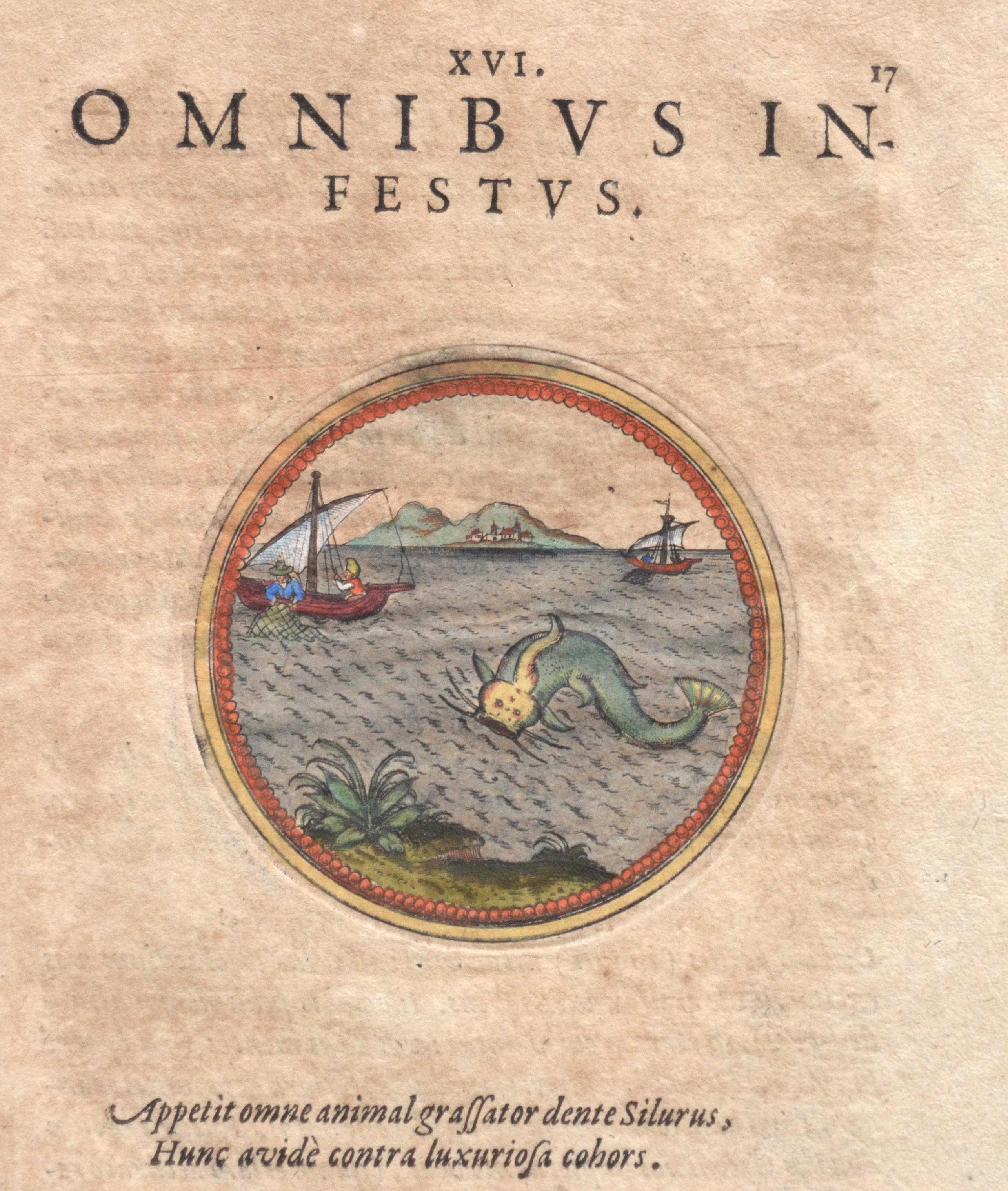 Anonymus  XVI. Omnibus infestus.