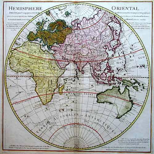 Dezauche  Hemisphere Oriental