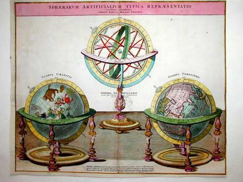 Homann Johann Babtiste Sphaerarum Artificialium Typica Repraesentatio…