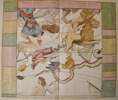 Homann / Doppelmayer, J.G. Johann Babtiste Globi Coelestis in tabulas planas redacti pars IV…..