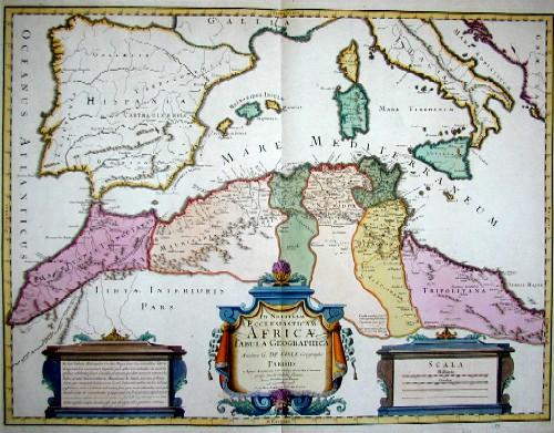 L´Isle, de /Covens & Mortier Guillaume In Notitiam Ecclesiasticam Africae Tabula Geographica