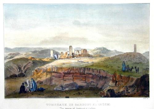 Engelmann  Tombeau de Sarbout El Cadem/ The tombs of Sarbout El Cadem ( Presqu´isle de Sinai )