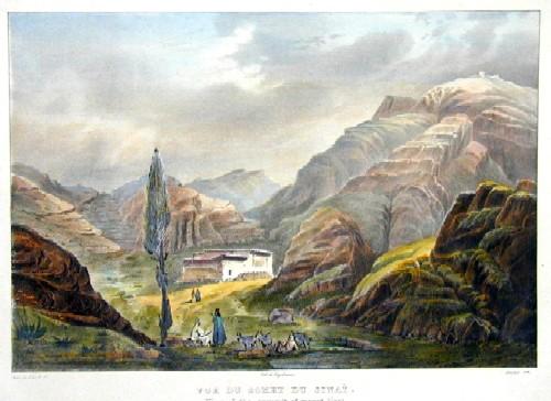 Engelmann  Vue du Somet du Sinai/ View of the Summet of mount Sinai