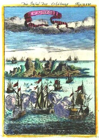 Mallet  Die Insul der Erhöhung, Isle de Ascencion