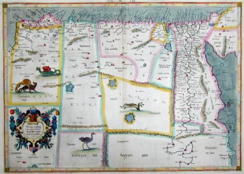 Ptolemy/ Gerhard Mercator  Medius meridianus 56, reliqui inclinantur ad hunc ratione 25 et 30 parallorum