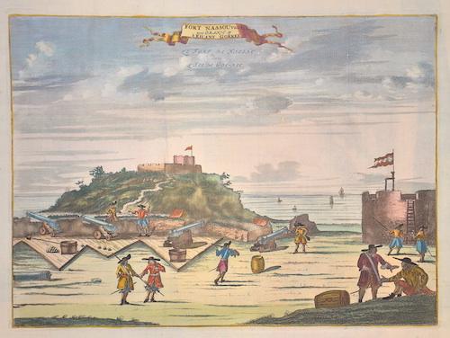 Dapper Olfert Fort Nassou van Binien met Oranje.op´t Eilant Goeree