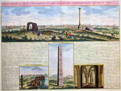 Chatelain  Description de la ville de Alexandrie et des antiquites remarquables qu on y voit