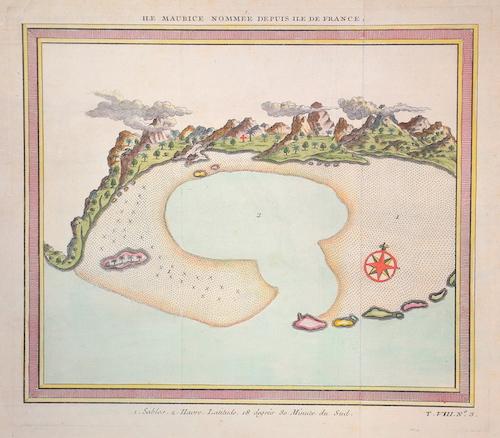 Bellin  Ile Maurice nommee d puis ile de France