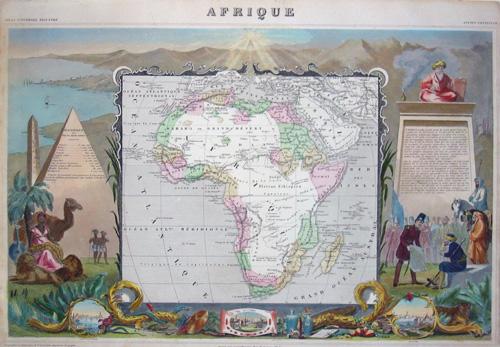Lemercier / Levasseur  Afrique