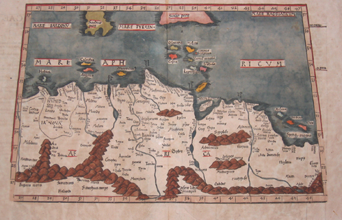 Ptolemy/ Fries Claudius/ Laurent ( Lorenz) Tabula II Africae