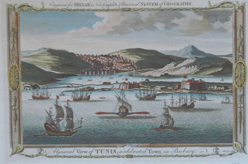 Sherwin  A general view of Tunis, a celebrated Town in Barbary