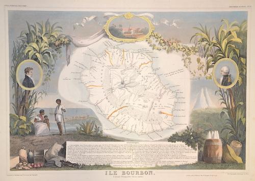Lemercier / Levasseur  Ile Bourbon