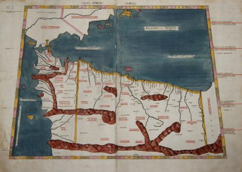 Ptolemy/Conrad Sweynheym  Prima Africae Tabula