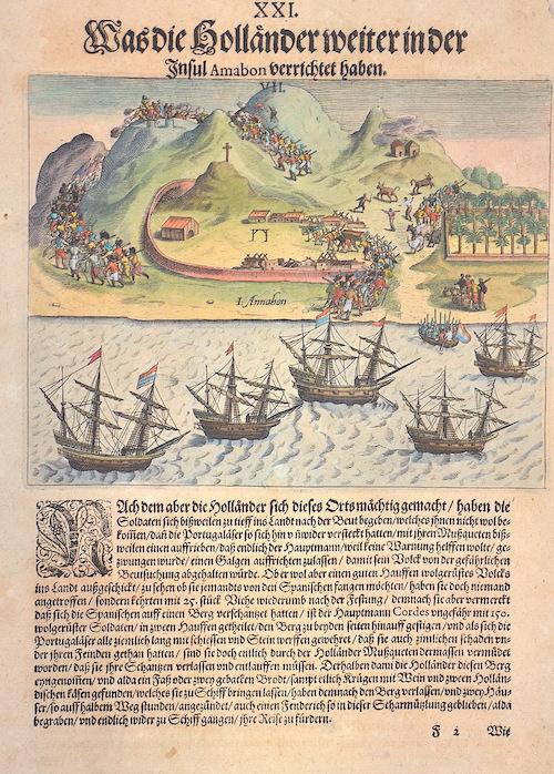 Bry, de Theodor, Dietrich Was die Holländer weiter in der Insul Amabon verrichtet haben