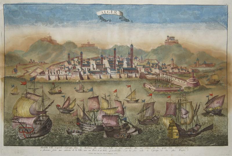 Jean  Alger ville capitale d´Afrique, dans la Barbarie, elle est tres belle et fort grande..