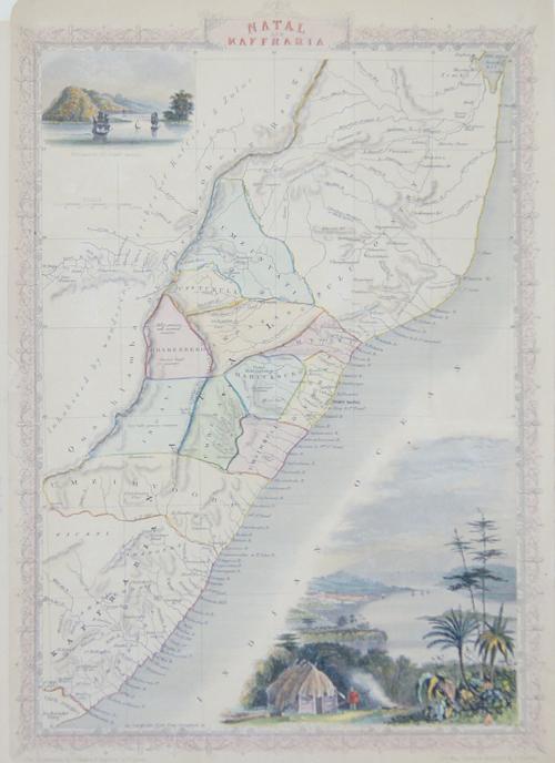 Tallis  Natal and Kaffraria