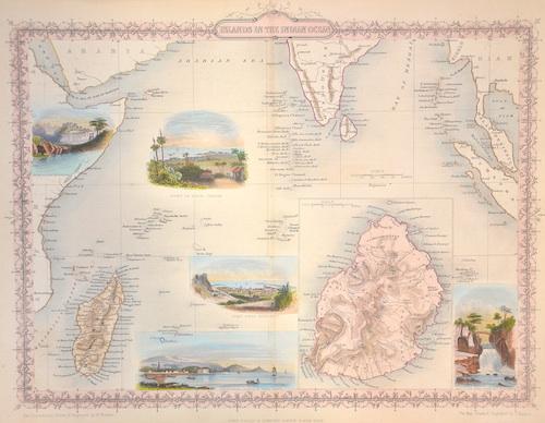 Tallis John Isalnds in the Indian Ocean