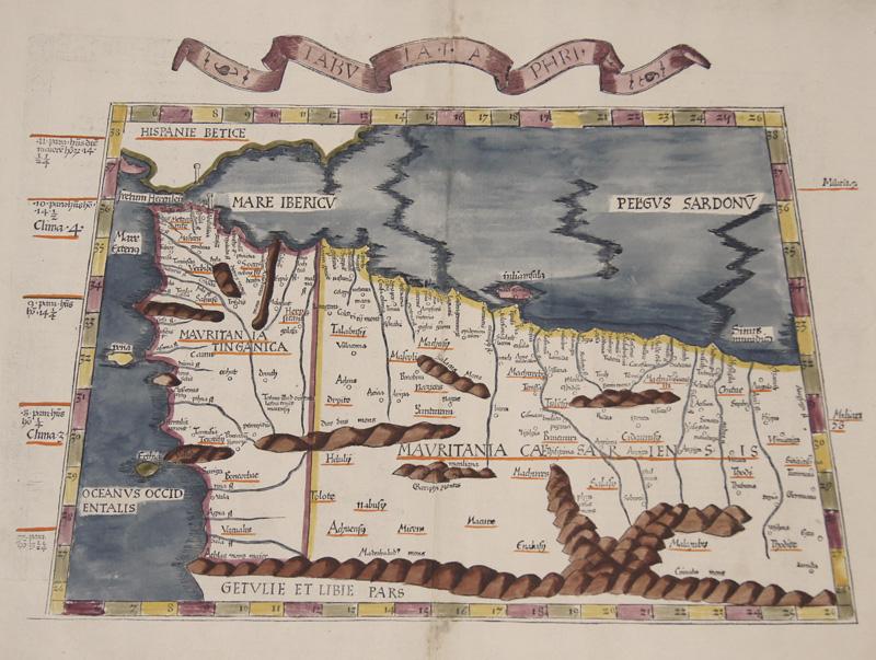 Ptolemy/ Fries  Tabula I Aphricae..