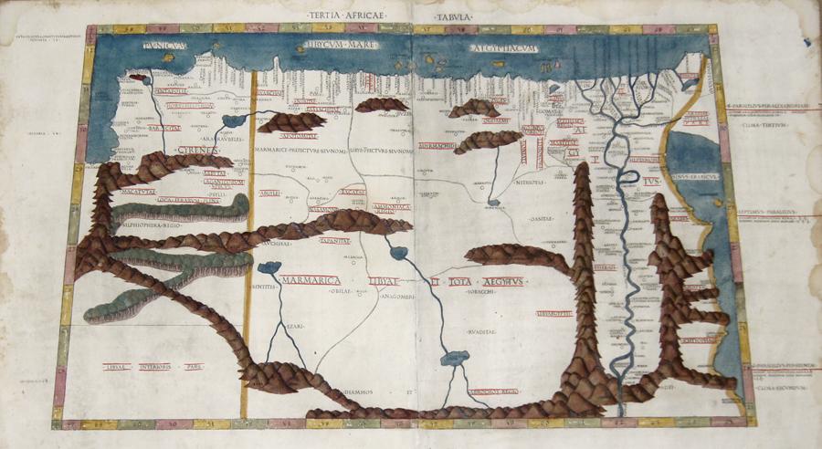 Ptolemy/Conrad Sweynheym  Tertia Africae Tabula
