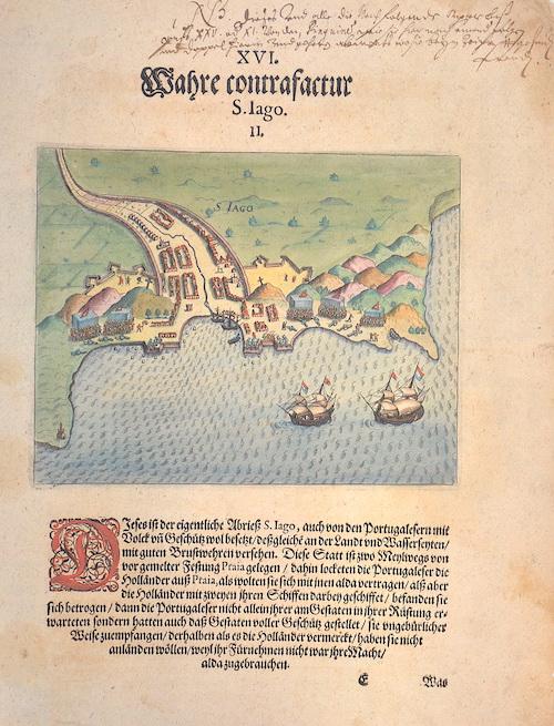Bry, de  XVI. Wahre contrafactur S. Iago. II.