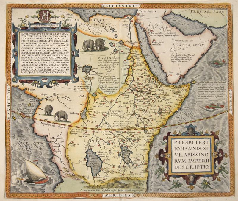 Ortelius  Presbiteri Iohannes, sive, Abissinorum imperii descriptio.
