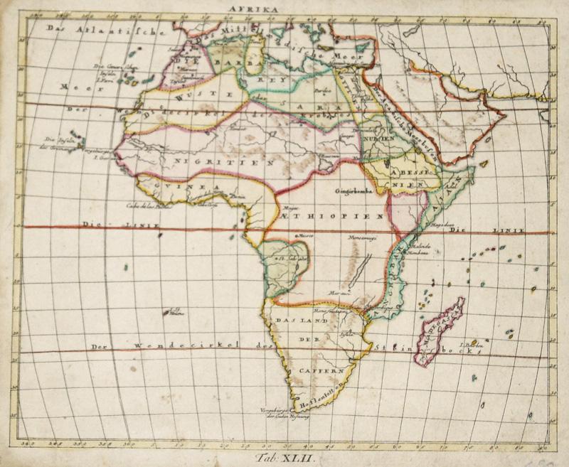 Walch Johann Afrika. Tab: XLII.