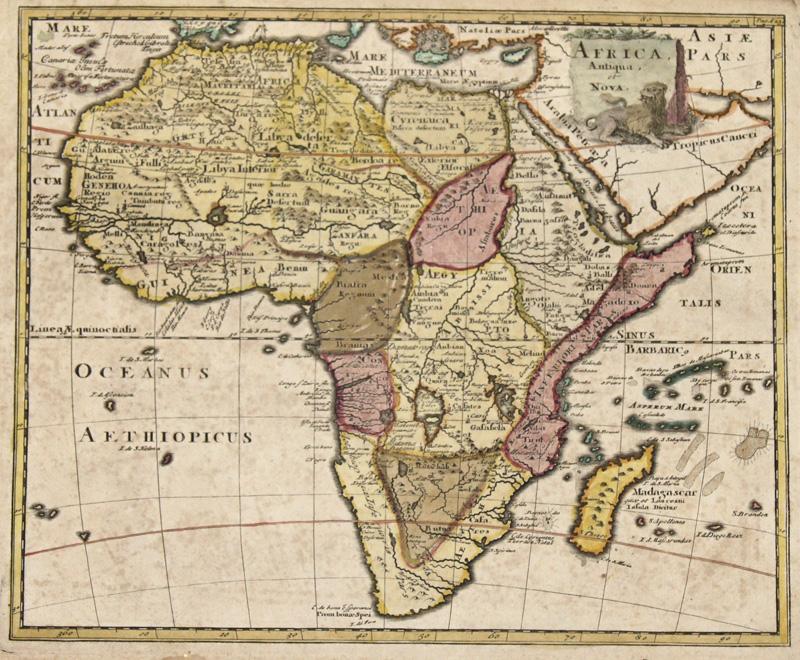 Anonymus  Africa, Antiqua, et Nova.