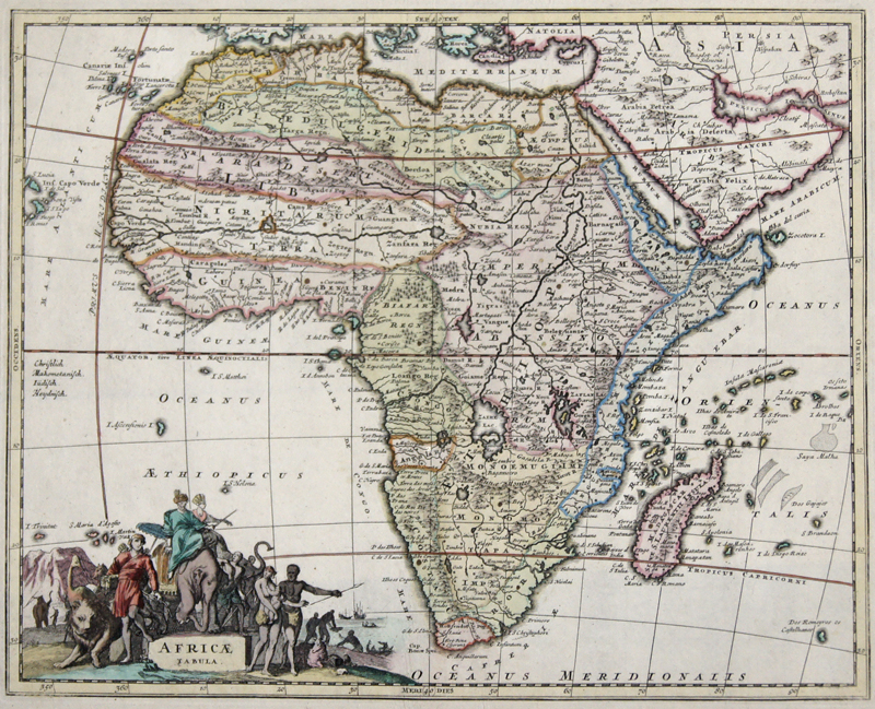 Anonymus  Africae Tabula.