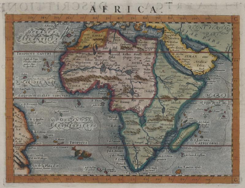 Botero Giovanni Africa. Descrittione dell' Africa. Libro Secondo.