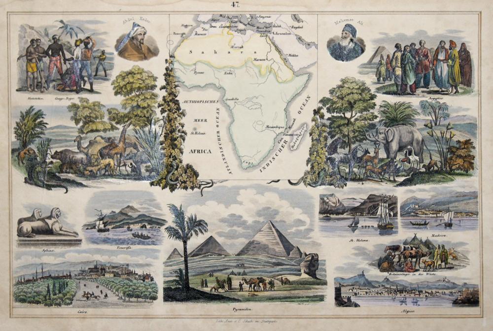 Schach Lithographische Anstalt C. Africa 47.