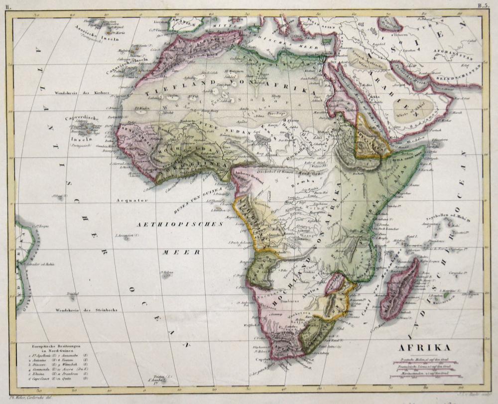 Baehr,von J. L. Afrika