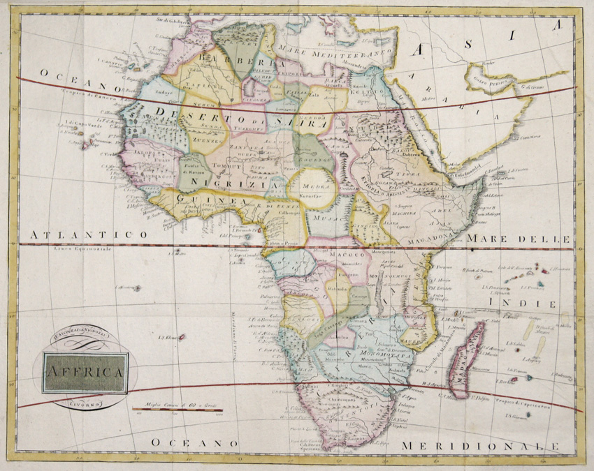 Vignozzi  Affrica Calcografia Vignozzi, Lovorno