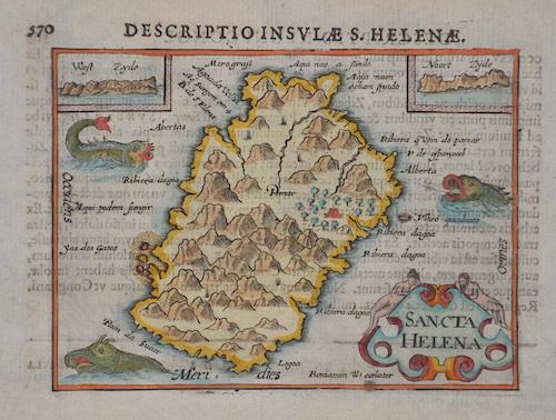 Bertius  Descriptio Insulae S. Helenae, / Sancta Helena