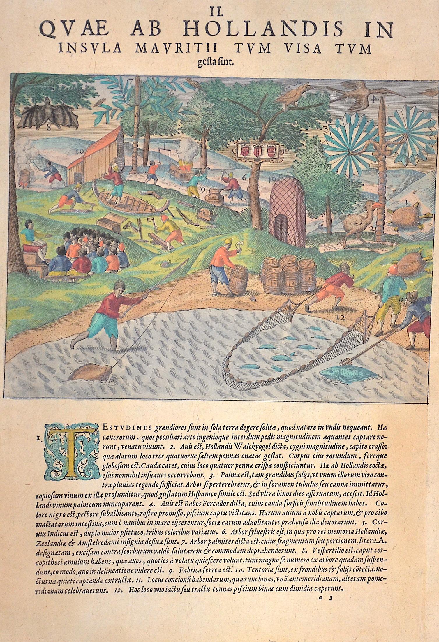 Bry, de Theodor, Dietrich Quae ab Hollandis in Insula Mauritii tum visa tum gestasint.