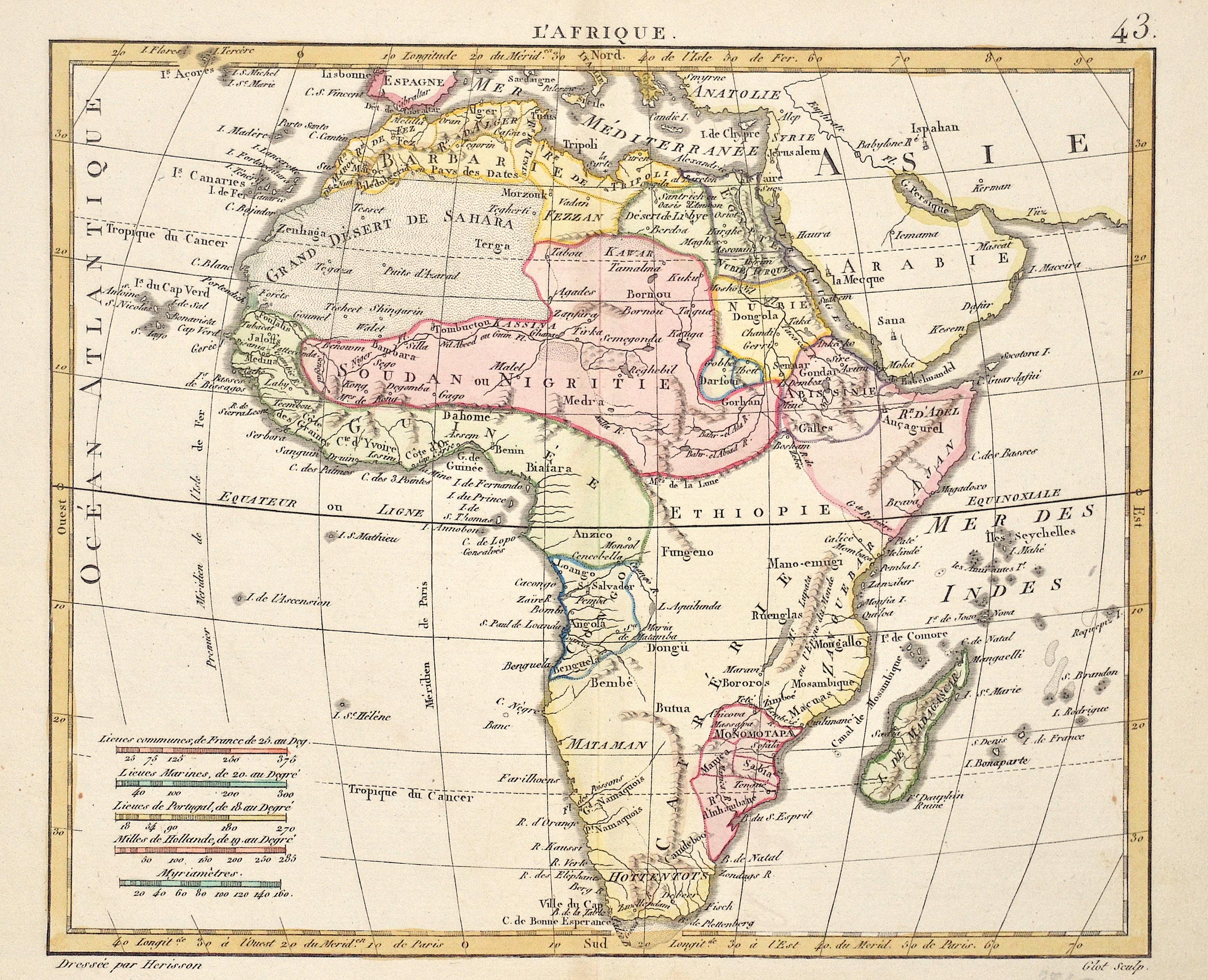 Herisson G. L'Afrique. 43.