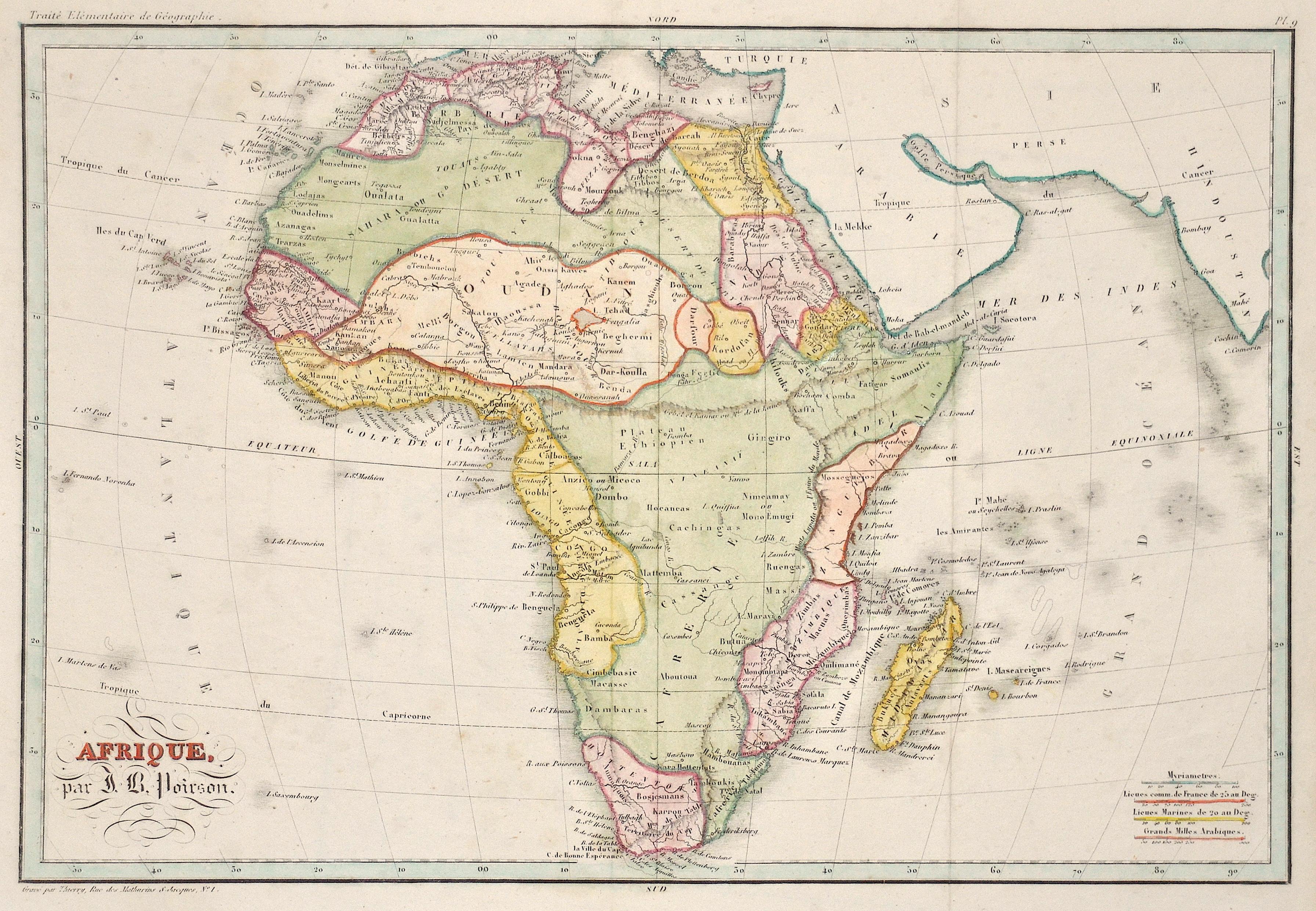 Thierry  Afrique, par J. B. Poirson.