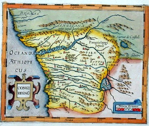Ortelius Abraham Congi regnu