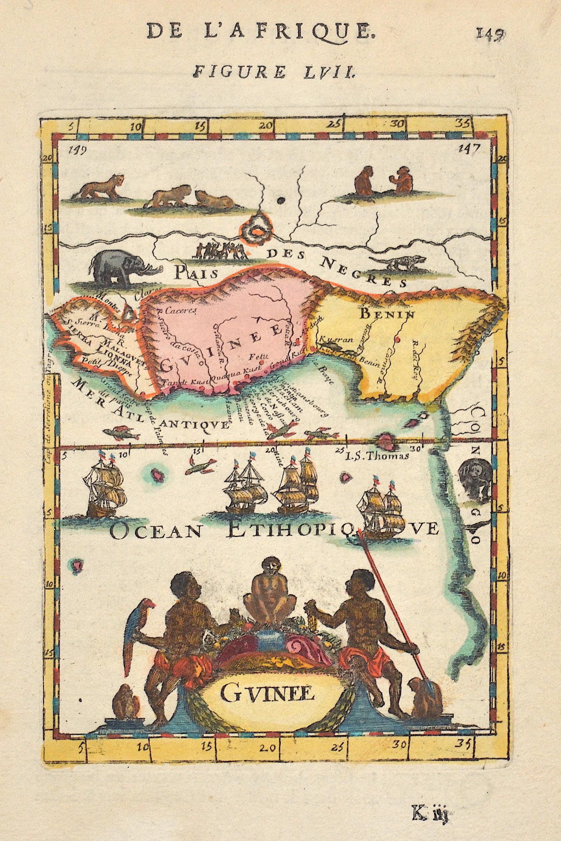 Mallet  De l'Afrique. Figure LVII.