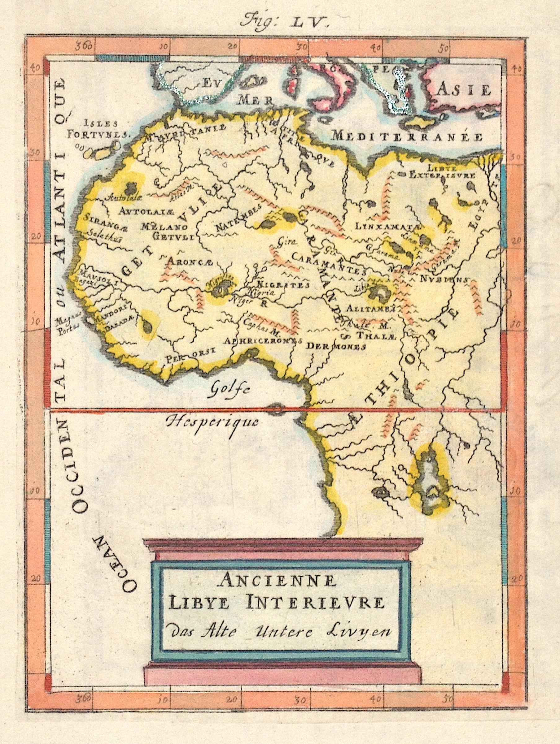 Mallet Alain Manesson Ancienne Libye Interieure  Das Alte untere Livyen