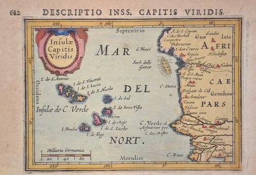 Bertius  Insulae Capitis Viridis