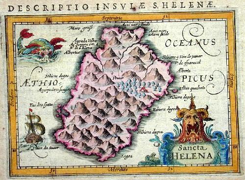 Bertius  Descriptio Insulae S.Helena