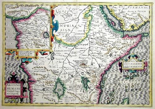Mercator Gehard Abissinorum sive Preiosi Ioanis Imperiu