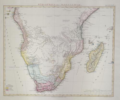 Perthes  Süd- Africa mit Madagascar